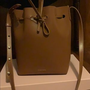 Mansur Gabriel small bucket bag